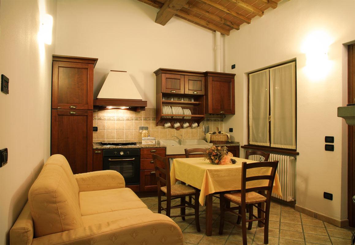 Camere e appartamenti dell 39 agriturismo agriturismo le for Immagini di appartamenti ristrutturati