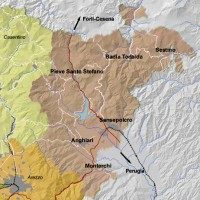 Itinerario mostra Della Robbia in Valtiberina