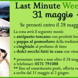 Last Minute in Toscana: l'Agriturismo Le Ceregne BIO ti offre la cena!