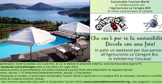 Vinci un weekend per due in Toscana con il contest 'Che cos'è per te la sostenibilità'?