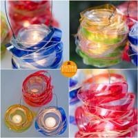 Riciclo creativo & Eco-Design: le lanterne con le bottiglie di plastica