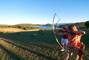 Offerta per famiglie Agriturismo Toscana - Lezioni di tiro con l'arco
