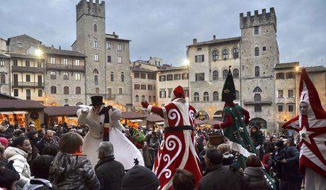Viaggio tra i mercatini di Natale in Umbria e Toscana